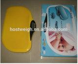 Hostweigh com a escala de bebê de medição de Digitas da fita da função da música
