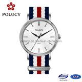 Nylon do relógio das mulheres do OEM do fabricante do relógio de China