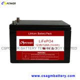 12V de verzegelde Reeks 150ah van de Batterij LiFePO4 van het Lood Zure voor Zonne