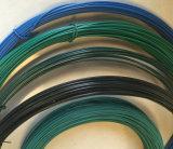 Fio revestido colorido de alta elasticidade do PVC