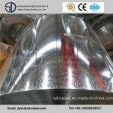 Le grand Gi d'IMMERSION chaude de paillette de Z100 SGCC a galvanisé la bobine en acier