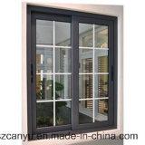 Ventana fija de aluminio Windows de aluminio y puertas para el hogar
