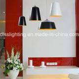 Decoración Interior Blanco Aluminio Lámpara Colgante Moderna
