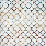 Peinture à l'huile abstrait Peinture géomatrique Gird Canvas