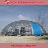 El almacenaje del carbón vertió el edificio prefabricado de la estructura de acero