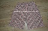 Biancheria intima degli uomini di Short del pugile tessuta cotone popolare di alta qualità di modo