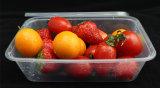 Контейнер Takeaway еды Microwavable устранимый пластичный с крышкой