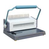 Machine à relier manuelle CB-1220/CB-1220A/CB-1220h de livre de peigne de bureau