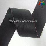 tessitura di nylon Herringbone nera di 45mm