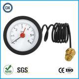 manomètre 005 37mm capillaire d'indicateur de pression d'acier inoxydable/mètres de mesures