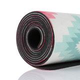 Stuoia di gomma di yoga dell'albero naturale antisdrucciolevole con stampa personalizzata