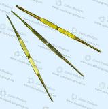 Алюминиевый крюк вязания крючком с двойным пунктом