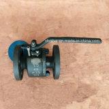 O ANSI forjou a válvula de esfera da extremidade da conexão da flange do aço de carbono A105