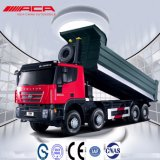 Tipper resistente do caminhão de descarga de Saic-Iveco-Hongyan Genlyon 8X4 380HP