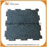 EPDM à haute densité Stars les carrelages en caoutchouc de couvre-tapis pour Crossfit