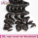 Do Virgin natural de Remy do preço de fábrica extensão peruana do cabelo humano