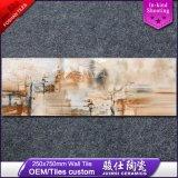 azulejo rústico de la pared exterior de la inyección de tinta del diseño 3D de Digitaces de la cultura de 250*750m m