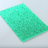 Folha plástica gravada folha da cor do policarbonato para a clarabóia