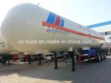 中国の販売3axles 56m3 24mtのガスの分布のトレーラー