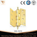 Шарнир сверхмощного качества оборудования двери латунный, шарнир двери приклада шарового подшипника
