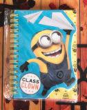 Caderno A6 espiral para o palhaço de classe