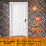 Дверь MDF белой картины деревянная для нутряной комнаты (GSP8-036)