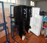 Двойным двигатель хода 25HP цилиндров 4 охлаженный воздухом тепловозный внешний