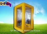 Distributeur automatique de billets gonflable de cabine d'argent pour des événements