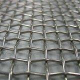 China-erstklassiger Leinwandbindung-galvanisierter Edelstahl quetschverbundener quadratischer Maschendraht