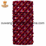 Promoción de deporte mágico fresco de poliéster personalizado impreso bufanda