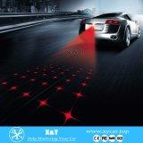 유령 그림자 LED 빛이 차 Laser에 의하여 환영받은 LED 점화한다