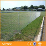 painéis da cerca de fio da ligação Chain do metal de 6FT x de 10FT para o campo de esporte
