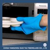 Перчатки печи кухни силикона сопротивления жары цветастые