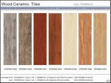 Carreau de céramique en bois durable de Foshan pour la construction de Matrial (VRW6N1562, 150X600mm)