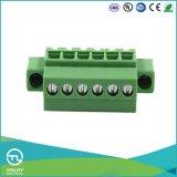 Bloco terminal de parafuso da montagem do PWB dos conetores Ma1.5/Vrf3.5 do adaptador (3.81)