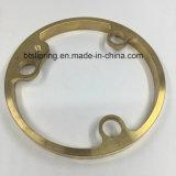 Partes fazendo à máquina precisas do cobre/bronze girando, mmoer, mmoendo,