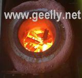 金属の溶ける炉の金の溶ける炉か銀製か溶ける銅の真鍮機械を溶かすこと