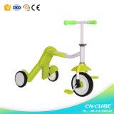 La roue neuve de Toythree de 2016 enfants de type badine le scooter