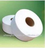 Blanc enorme doux de tissu 3 couches de roulis enorme de papier de soie de soie
