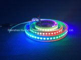 Striscia del chip 144LEDs 43.2W DC12V LED di colore completo SMD5050 di RGB IP65