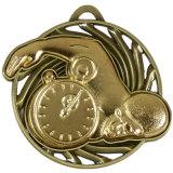 La fuente modifica la medalla antigua del deporte para requisitos particulares de la alta calidad del OEM de la aleación del cinc del oro 3D