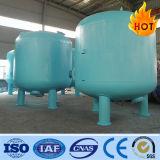 filtro de arena 30-500m3/H para el equipo de proceso del agua