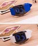 安い方法高品質のシリコーンLEDの腕時計