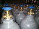 높은 순수성 99.999% 헬륨 가스를 가진 50L 고압 실린더