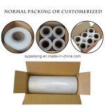 пленки пленки обруча простирания зерен 4cm-200cm пленка первоначально LLDPE прозрачной упаковывая