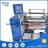 Semi automático del papel de aluminio / silicio de papel cortadora rebobinadora