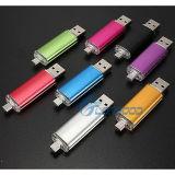 Blitz USB-4/8/16/32GB fährt u-Platte für androides OTG intelligentes Telefon und Computer