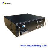 батарея лития LiFePO4 19inch 48V100ah с поверхностью стыка связи