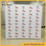 Stand de drapeau de présentoir d'exposition de salon de tissu de tension