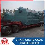 De industriële Szl 7-1.0MPa Boiler van het Hete Water van de dubbel-Trommel Horizontale Met kolen gestookte